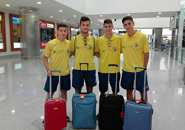At.Villacarlos- 4 jugadores seleccion balear cadete