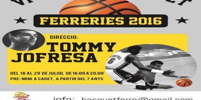 Cartell Campus Tommy Jofresa