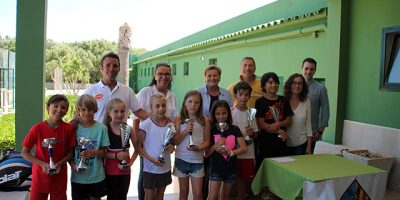 Entrega trofeos Campeonato Baleares de tenis
