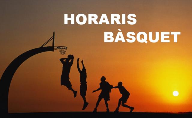 Fondo horaris basquet Menorca