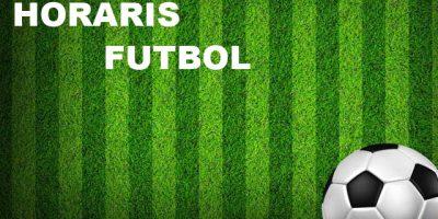 Fondo horaris futbol Menorca