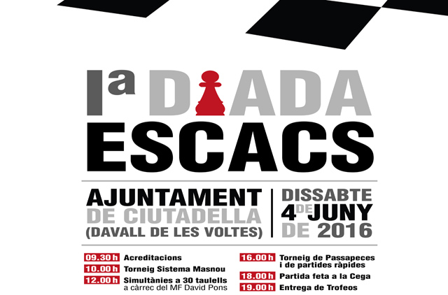 Cartell I Diada escacs