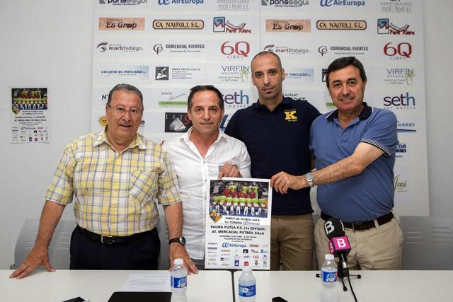 1er Torneo Air Europa Menorca FS-Presentación
