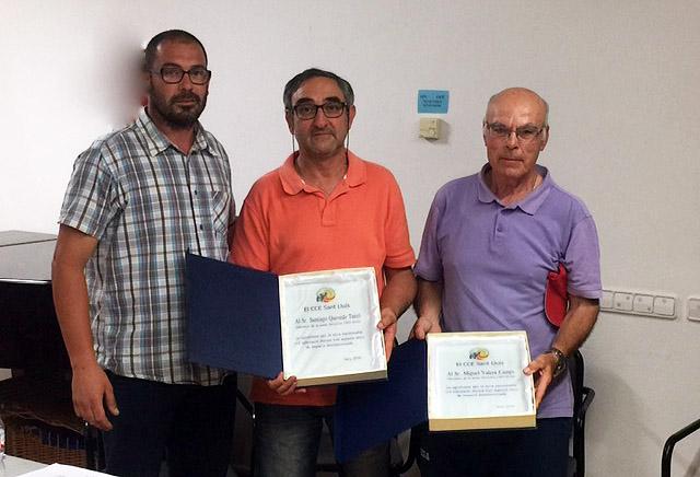 Asamblea CCE Sant Lluis-reconeixaments Valero-Quevedo