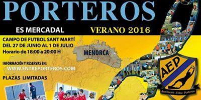 Cartel Campus porteros Es Mercadal