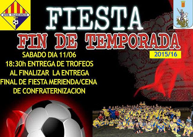 Cartel Fiesta At. Villacarlos