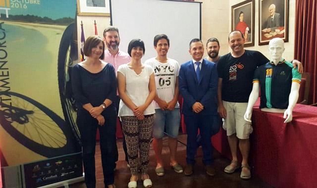 Presentació 11a Volta a Menorca en BTT
