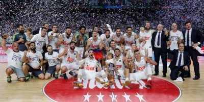 Real Madrid campeon basquet