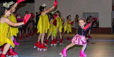 baile final-XI Festival de fin de curso de la Escuela patinaje artístico UD Mahón