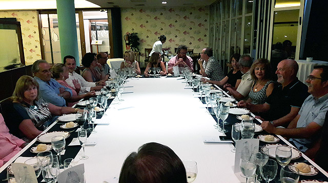 Cena despedida Junta Directiva Club Marítimo de Mahón