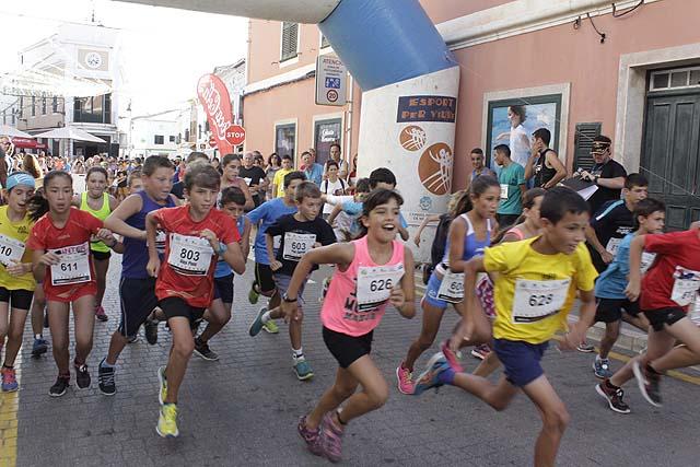 Cursa Popular Es Mercadal 2016