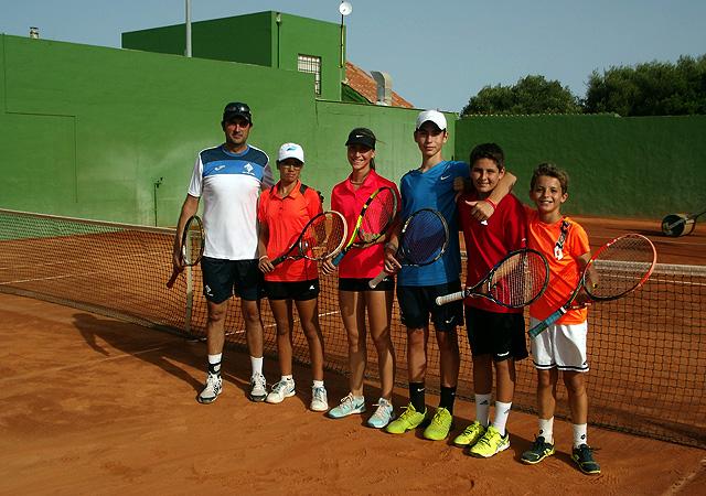 XXVIII Circuit Illes Balears 2016 en Ciutadella-9 jugadores del Club de Tenis Mahón