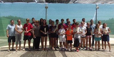 XXVIII Circuit Illes Balears de tenis-entrega trofeos