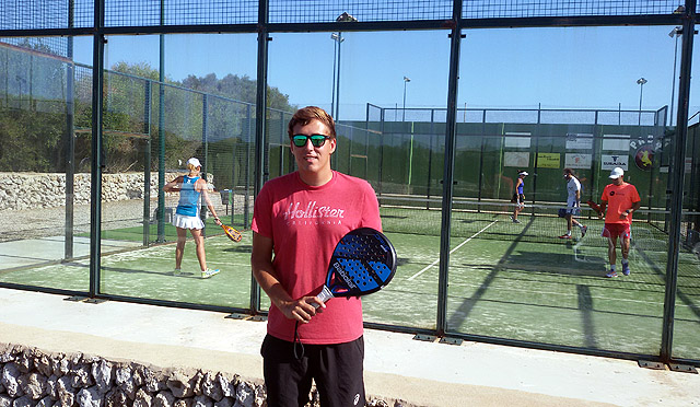 Óscar Benejam-pádel del Club Tenis Mahón