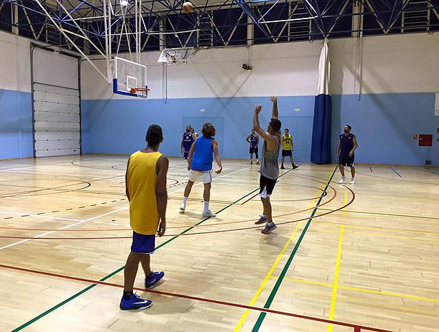 Bàsquet Menorca-entreno