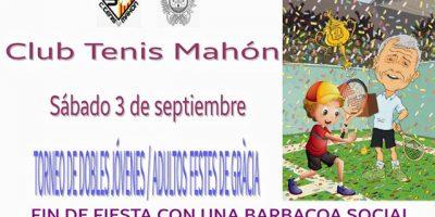 Cartel Tenis Festes Gracia 2016