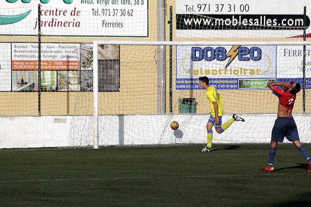 Futbol LNJ 16-17 Ferreries-Penya Ciutadella