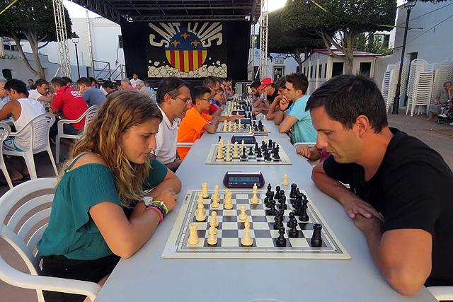 I circuit d'escacs blitz illa de Menorca