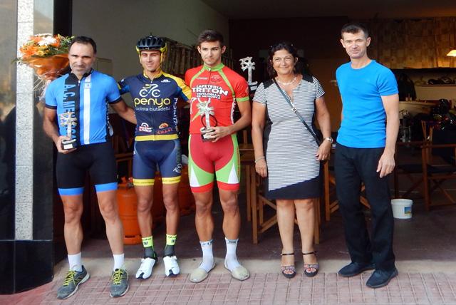 Cursa ciclista Festes Sant Bartomeu 2016-PodiumOpen