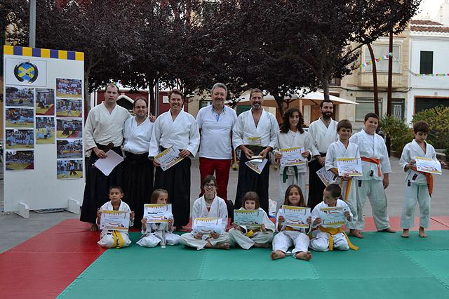 exhibició d'Aikido de Sant Llorenç 2016