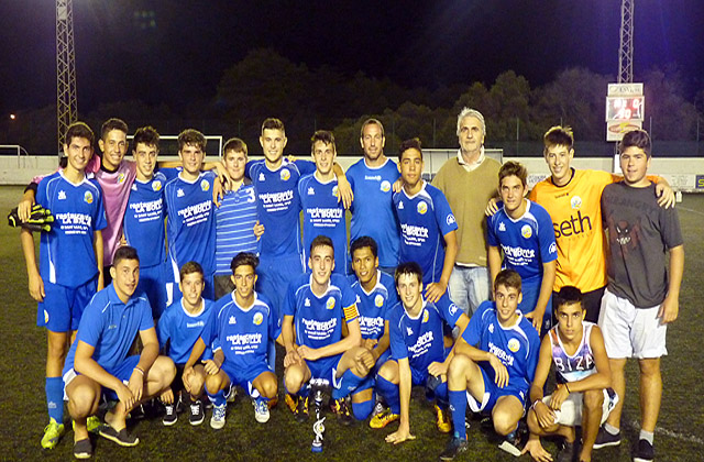 CCE Sant Lluís juvenil campió