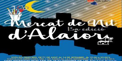 Cartell Mercat de Nit d'Alaior