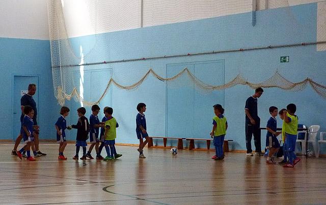 Escola de futbol del CCE Sant Lluís