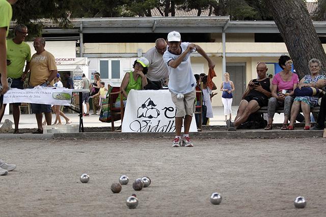 Petanca Adaptada Festes de Gracia 2016