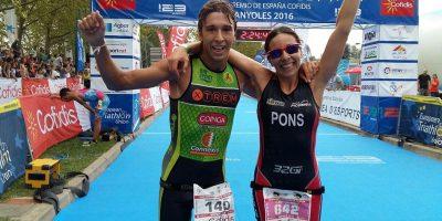 Olga Pons-Triatlon Cto España