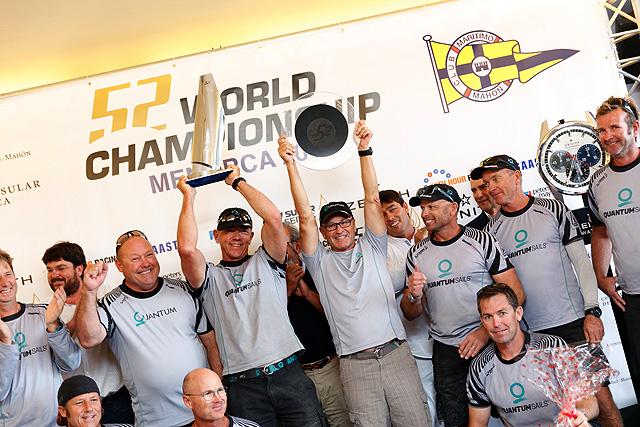 Vela-Campeonato del Mundo de la clase TP52-