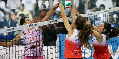 Feel Volley Alcobendas - Avarca de Menorca (Foto Ángel Rivas)