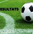 Resultats Futbol des21 as 22 d'abril de 2018