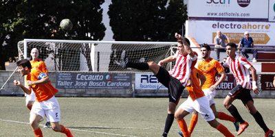 Futbol 3ª Balear CE Mercadal -Platges Calvià