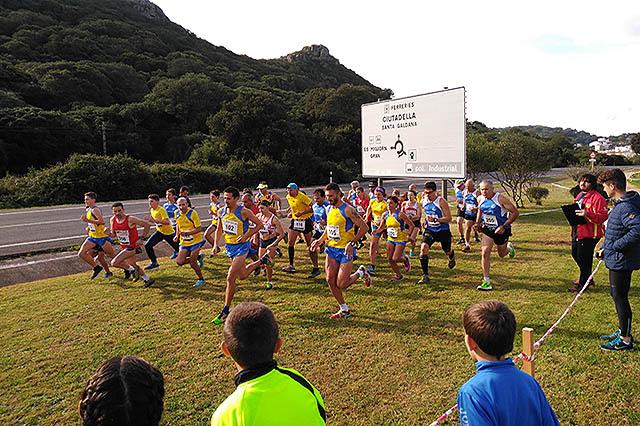 1º cross de la Challenge Menorca 2016-17