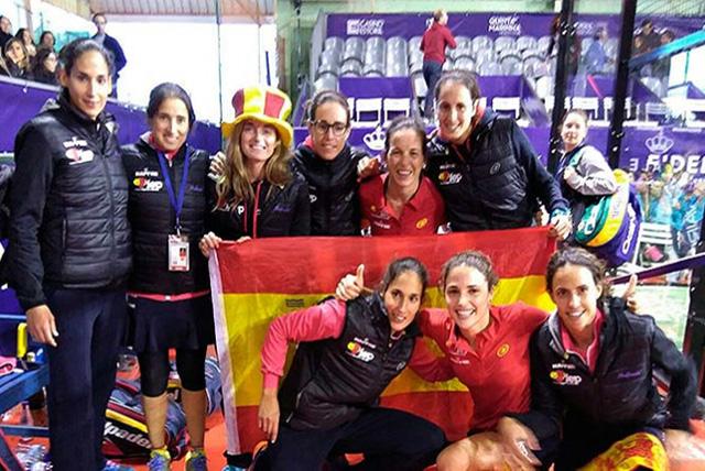 Gemma Triay campeona del Mundo de pádel con España