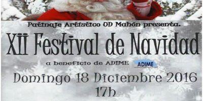Festival Escuela de Patinaje Artístico Ud Mahón de Navidad