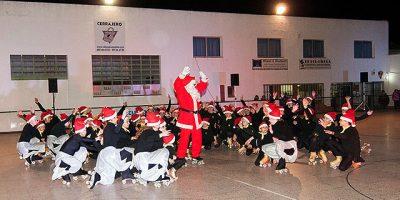 Festival de Navidad de la Escuela de Patinaje Artistico UD Mahón