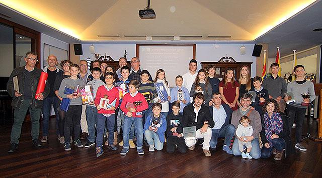 Club Marítimo de Mahón entrega trofeos - foto-grupo-premiados1