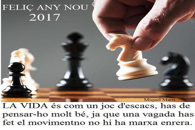 felicitació ajedrez 2017