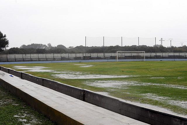 Campo Sporting encharcado