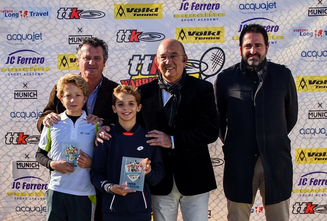 Felipe Virgili - campeón TTK Warriors Tour de Madrid