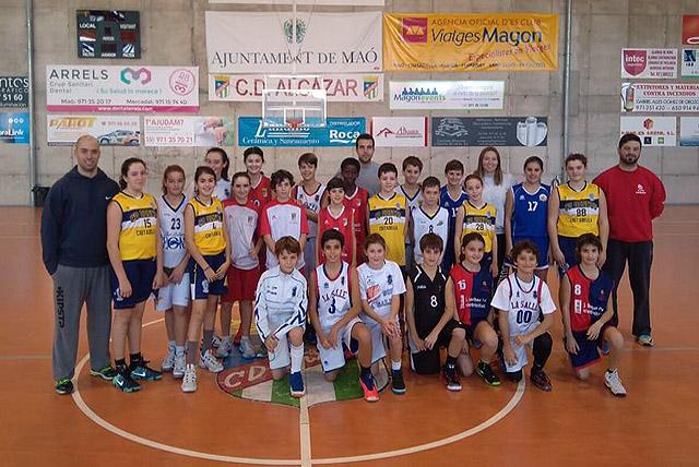 Seleccions Mini basquet-Entrenament