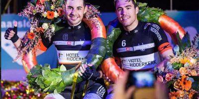 Torres y Mora, tras lograr el triunfo el año pasado en Rotterdam
