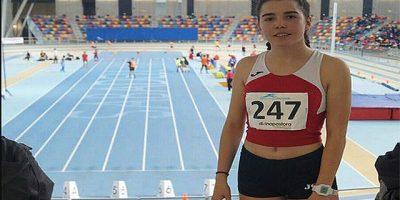 Iris Jaimez Capó, del Menorca atletismo intersport1