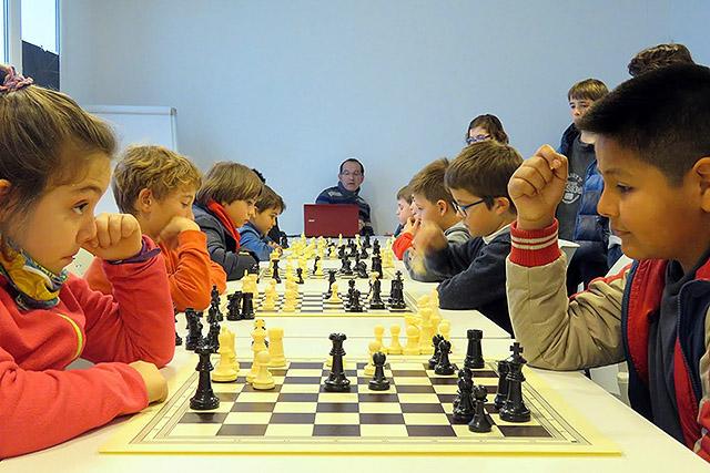 Primera Ronda Escolars d'Escacs de Menorca 2017- Es Mercadal