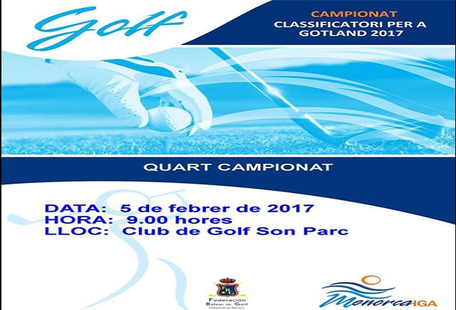 cartel Golf-Gotland