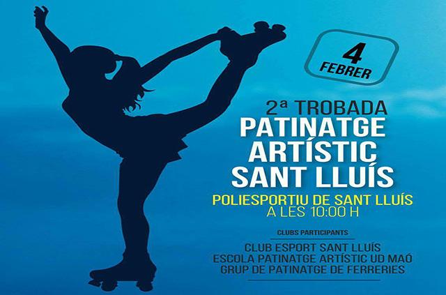 cartel Patinaje sant lluis 2017