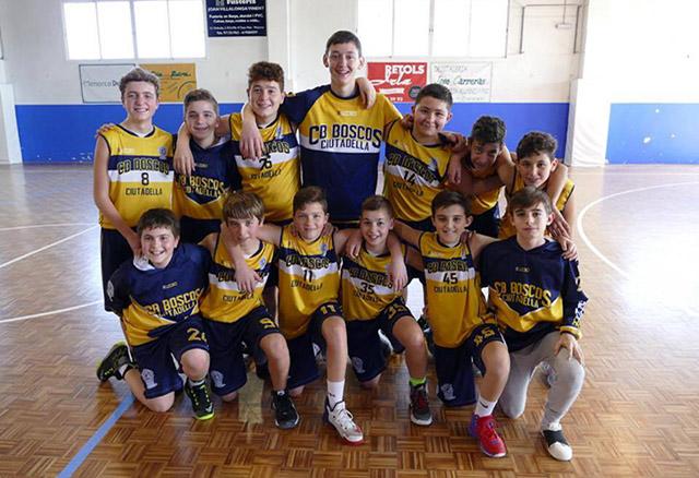 infantil Boscos Campeons de Copa Menorca (Fotos: Miquel Moll)