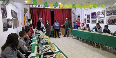 Ajedrez Día de les Illes Balears-Es Castell 2017