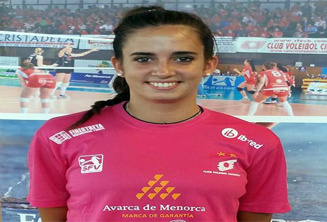 María Barrasa -Avarca de Menorca MVP